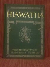 THE SONG OF HIAWATHA Henry Wadsworth Longfellow illus by Harrison Fisher 1906