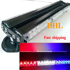 36 LED Strobe Light Auto Emergency Warning Car Flash Light Bar Red White Blue