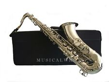 TENOR SAXOPHONE Sax NICKEL PLATED Double Arms on low Bb & C Shop Tested SALE!