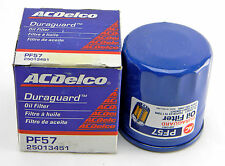 NEW ACDELCO PF57 25013451 ENGINE OIL FILTER MADE IN UNITED KINGDOM