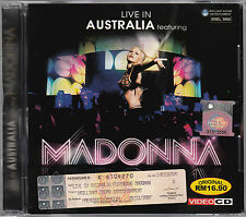 MADONNA Live In Australia MALAYSIA Edition VIDEO CD NEW SEALED