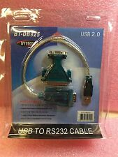 BT-DB925 BYTECC USB to Serial Cable Adapter 6 PIECES