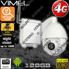 House Security Camera 4G Outdoor Farm Home PTZ 18XOptical Zoom GSM Live View 3G