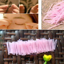 100pcs Invisible Fiber Double Side Adhesive Eyelid Stickers Technical Eye Tapes