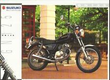 SUZUKI GN125 MOTORBIKE SALES 'BROCHURE'/SHEET 1994 1995