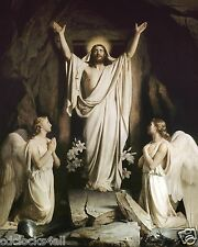 Jesus Christ Has Risen / Christian - Christianity 8 x 10 GLOSSY Photo Picture