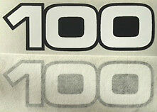 YAMAHA RS100 SIDE PANEL DECALS