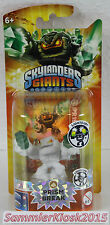 White Flocked Lightcore Prism Break - Skylanders Giants Figur LC Chase Variante
