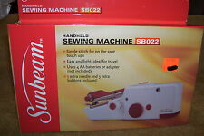 SUNBEAM HANDHELD SEWING MACHINE SBO22, SINGLE STITCH , NEW