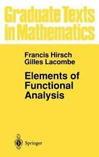 Elements of Functional Analysis (Graduate Texts in Mathematics) (v. 19-ExLibrary
