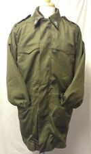 "Genuine Grade 1 Italian Army Surplus Parka & Liner Olive Green Large 48"" Ref 267"