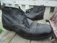 Mens FRYE Ankle Chukka Boots Distressed Look 10 D