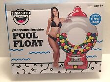Giant Gumball Machine Floating Raft Inflatable Swimming Pool Float Water Toy