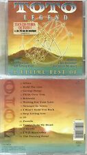 CD - TOTO : Le meilleur de TOTO - BEST OF / AFRICA / ROSANNA / HOLD THE LINE