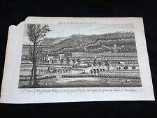 "18th Century Modern Universal British Traveller ""Chatsworth House"" Print"