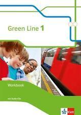 Green Line 1. Workbook mit Audio-CD 5. Klasse (2014, Geheftet) neue Ausgabe