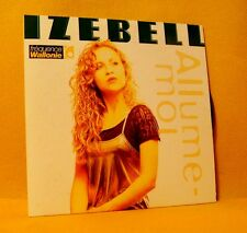 Cardsleeve single CD Izebell Zonder Jou / Allume-Moi 2 TR 1998 Pop