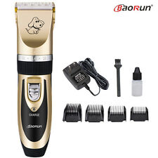Electric Professional Pet Dog Hair Trimmer Grooming Clippers Cat Animal Shaver