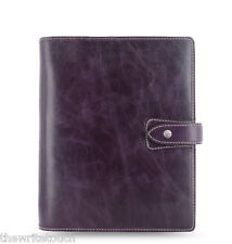 Filofax Malden Organizer A5 - Purple - 025851 - 2017 Diary- 100% Leather
