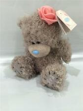 """Me to You bear/  Tatty Teddy   5"""" with pink rose in hair   2015 release  NEW"""