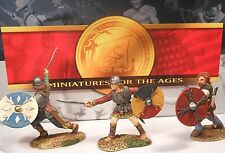 CONTE LTD. PEWTER VIKINGS & NORMANS VIK001 VIKING FIGHTING SET MIB