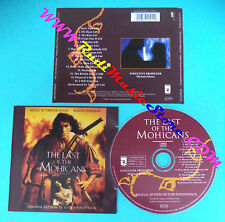 CD Trevor Jones/Randy Edelman The Last Of The Mohicans SOUNDTRACK (OST1)