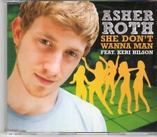 (EK898) Asher Roth ft Keri Hilson, She Don't Wanna Man - 2009 DJ CD
