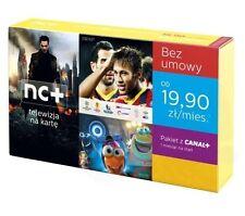 Cyfra Plus Telewizja na karte NC+ Canal + Cyfrowy Polsat Polska Telewizja Kamsat