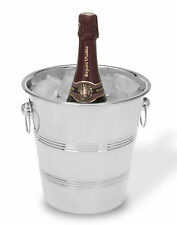 Stainless Steel Ice Bucket Wine Beer Champagne Drinks Cooler Large with Handles
