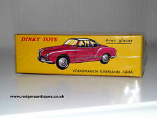 Dinky Toys Atlas Editions # 24M VOLKSWAGEN KARMANN GHIA - Mint Sealed Box + COA.