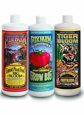 Fox Farm Hydroponic Trio Quarts - Big Bloom Hydro Grow Big & Tiger Bloom Qt 32oz