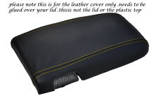 YELLOW STITCH FITS CAMARO TRANS AM FIREBIRD T56 96-02 LEATHER ARMREST COVER ONLY