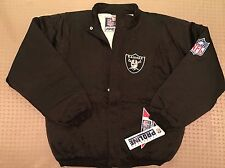 Vintage 90's Oakland LA RAIDERS Apex One Jacket NWT NEW Old Stock NOS
