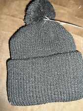 Toddler size Black knit hat Nwt