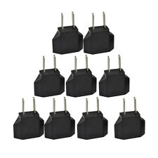 5pc European EU to US USA Travel Power Charger Adapter Plug Outlet Converter New