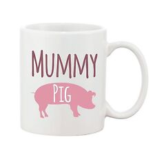 Mummy Pig Mug Mothers Day Mum Present Novelty Gift Ceramic Coffee Cup 10oz