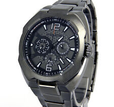 POLICE WATCH MEN 'MAVERICK' MULTIFUNTION 46mm GUNMETAL STEEL PL-14106JSU/61M