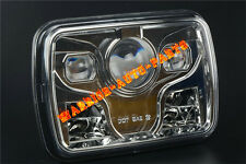 "7x6"" LED Projector Headlight Sealed Beam Headlamp DOT Approved Chrome (1 Lamp)"