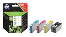 HP 920 XL 4x ORIGINAL PRINT CARTRIDGE OFFICEJET 6000 SE 6500A 7000 7500A OVP NEW