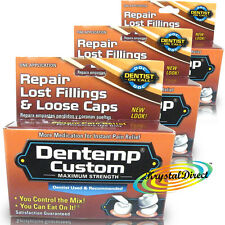3x Dentemp Custom Tooth Filling Dental Teeth Fill Repair