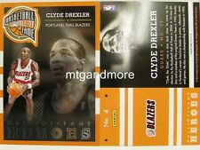 PANINI NBA (ADRENALYN XL) 2013/2014 - #004 Clyde Drexler-Hall of Fame Heroes