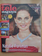 Tele Magazyn 37/2014 NATALIE PORTMAN on front cover in.Ben Bocquelet