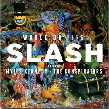 World On Fire - Slash CD Sealed ! New ! 2014