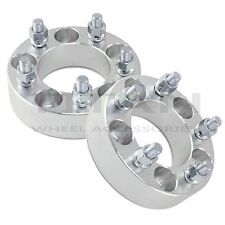"""(2) 1.5"""" Inch Ford Mustang Wheel Spacers 5x4.5  Classic Car Hotrod Boss Shelby S"""