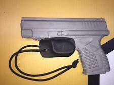 Kydex Trigger Guard for Springfield XDS Black