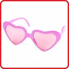 PINK LOVE LOVER HEART SHAPE GLASSES SUNGLASSES -COSTUME-PARTY-COSPLAY