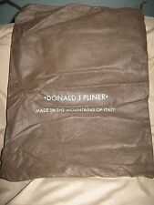 "Donald J Pliner Italy - Draw String Dust Bag Shoe Cover Sleeper Purse 14""x10.5"""
