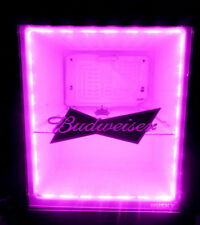 Pink LED Light Set for Husky Type Mini Fridge Cooler Remote Control 240v