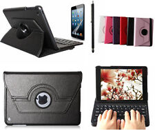360°Rotating Stand Leather Case Cover with Bluetooth Keyboard for IPad MINI 3 2