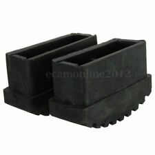 2 Pcs Anti Slip 56x20mm Replacement Rubber Step Ladder Feet Foot Cover Cusion